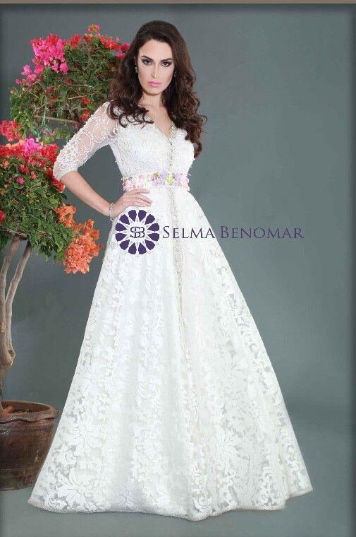 Caftan by Selma Benamor ... love this caftan you can use it as a wedding dress