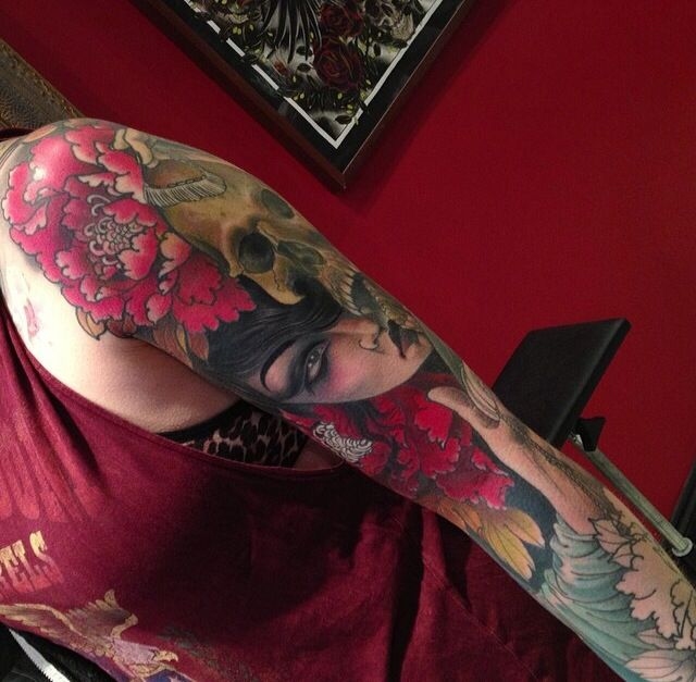 Dope Girl Tattoos