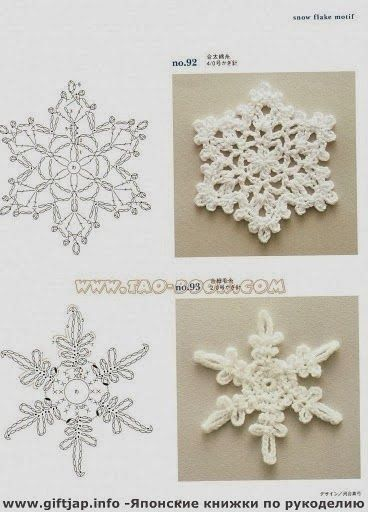 Receitas de Trico e Croche: Natal estrela com gráfico