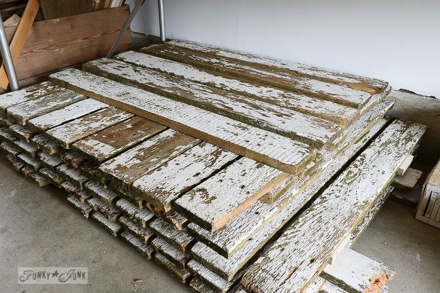 how to strip grungy wood into spotless reclaimed gold in minutes, cleaning tips, how to, pallet, woodworking projects