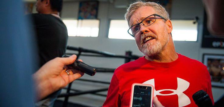 Freddie Roach Talks Linares vs Gesta Pre-Fight #LetsgototheFights #FreddieRoach #allthebelts #boxing