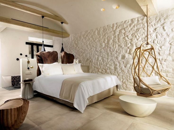 COCOON boutique hotel inspiration bycocoon.com | interior design | hotel projects | bathroom design | design products | renovations | Dutch Designer Brand COCOON | Beach room. KENSHŌ Luxury Hotel in Mykonos