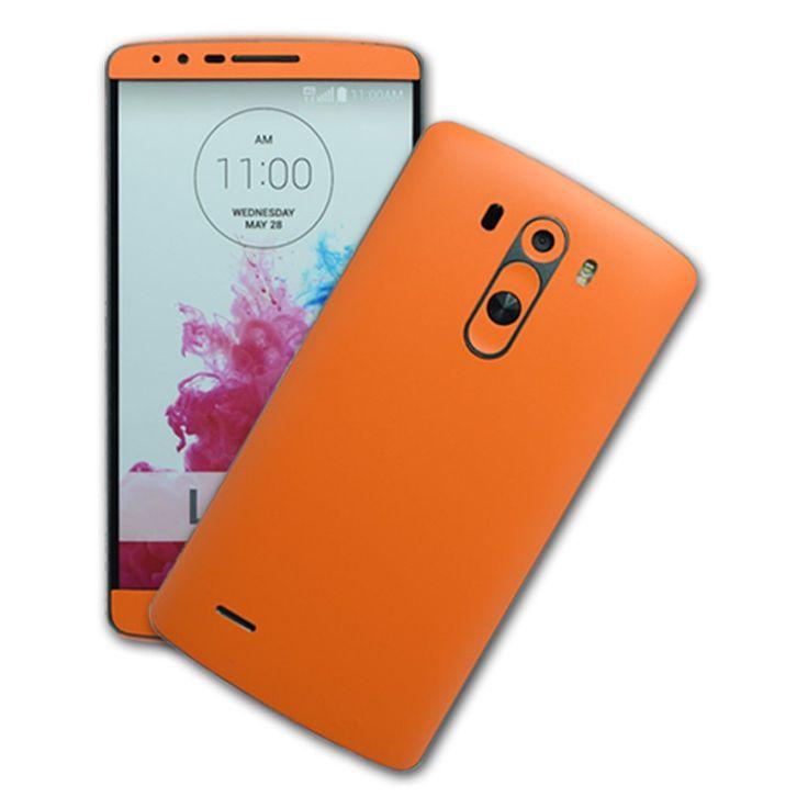 Folii Carbon 3M Orange LG G3