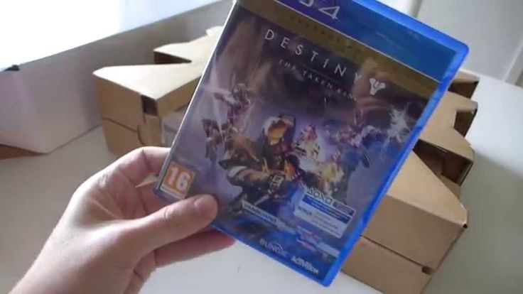 PlayStation 4 Destiny: The Taken King Limited Edition Bundle - Unboxing - Part 2