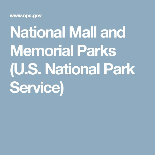 National Mall and Memorial Parks (U.S. National Park Service)