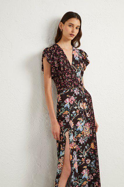 08aef3fe41 Bridget Crepe Mix Print Dress in 2019 | SS 2020 FASHION INSPIRATION ...