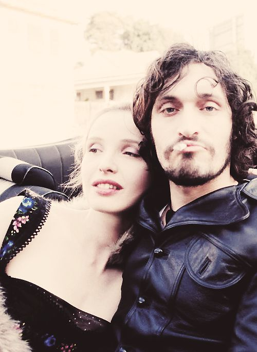 There is only one person in the world that I love more than Vincent Gallo, and that is Julie Delpy... And here the two of them are...
