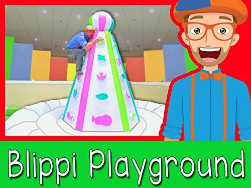 At an Indoor Play Place with Blippi  Learning is fun * Click image for more details.