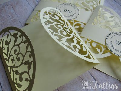ProjectGallias:#projectgallias: 100% Handmade Holly Communion Invitations, Zaproszenia komunijne, Komunia Święta