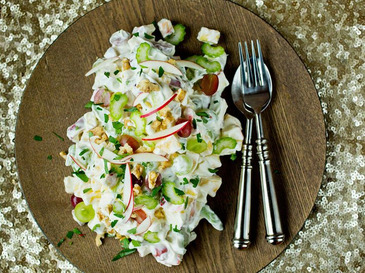 Klassisk waldorfsalat