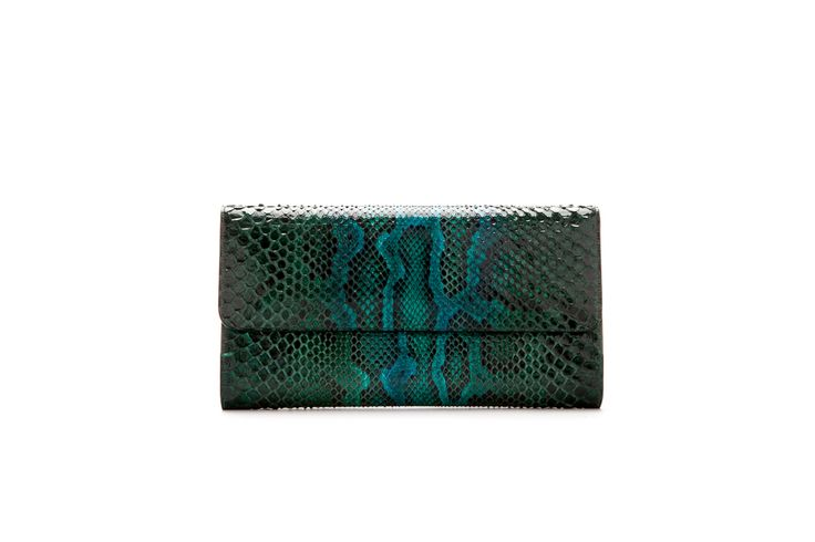 LUSHA emerald real python pochette