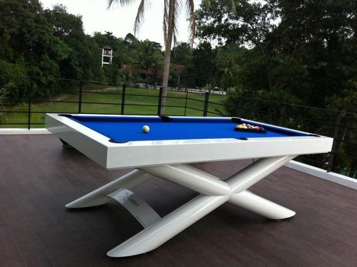 Attractive White Outdoor Pool Table | Game Tables | Pinterest | Outdoor Pool Table, Pool  Table And Game Tables