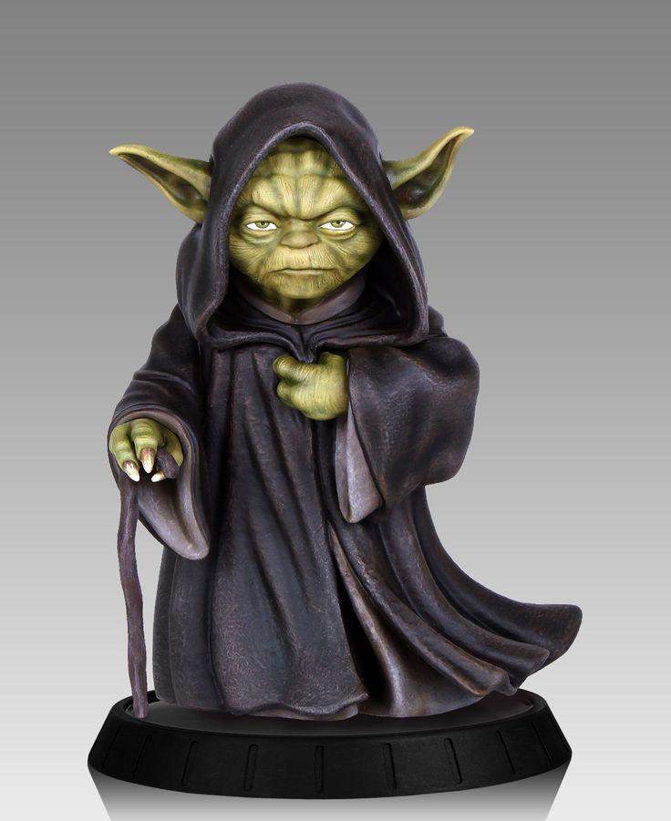 Star Wars statuette Yoda Ilum Gentle Giant