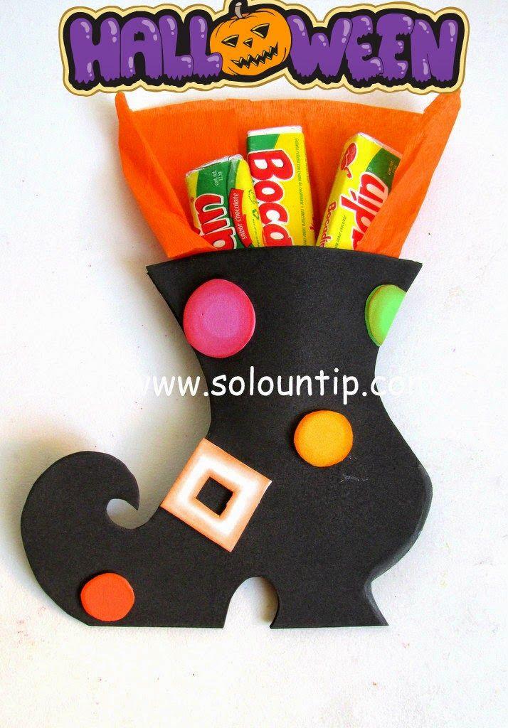 Muchos souvenirs para hacer dulceros en halloween - Adornos de halloween ...