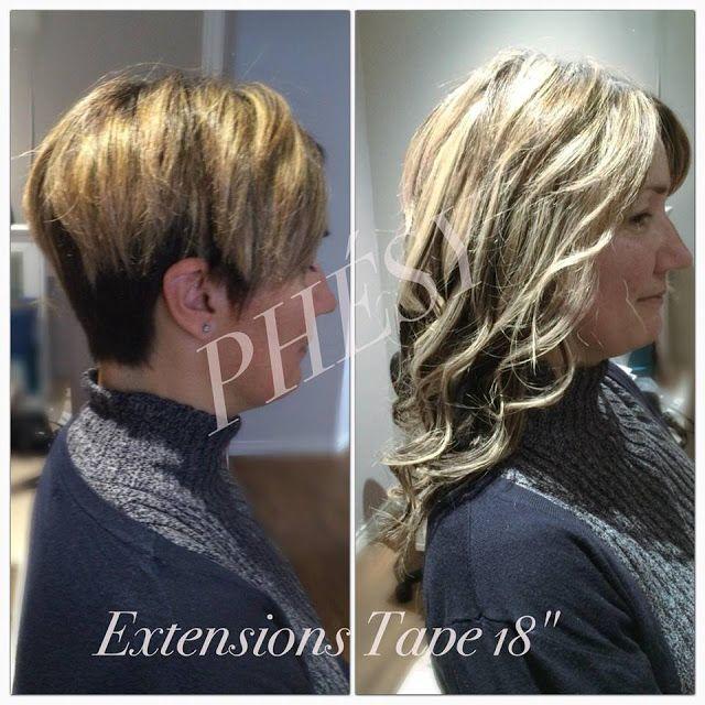 Bien-aimé 30 best Extensions de Cheveux Avant / Après images on Pinterest  XE21