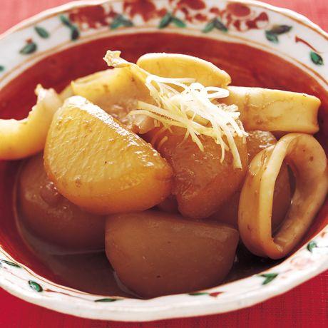 いかわた大根 | 井澤由美子さんの煮ものの料理レシピ | プロの簡単料理レシピはレタスクラブニュース