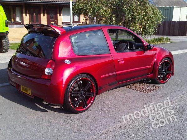 modified renault 255bhp clio 172 cup turbo 2003 picture modified cars bodykit cars cool cars. Black Bedroom Furniture Sets. Home Design Ideas
