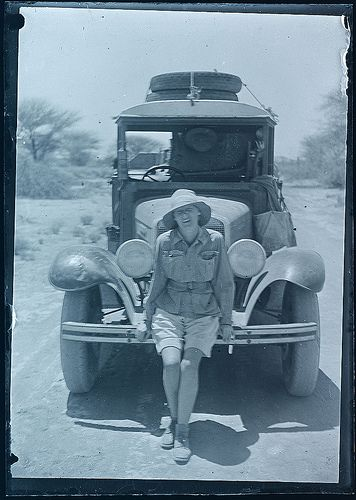 A vintage safari picture! Travel to AFRICA with GONDWANA DMCS - your network of boutique Destination Management Companies for travel to all the exotic corners of this world - www.gondwana-dmcs.net