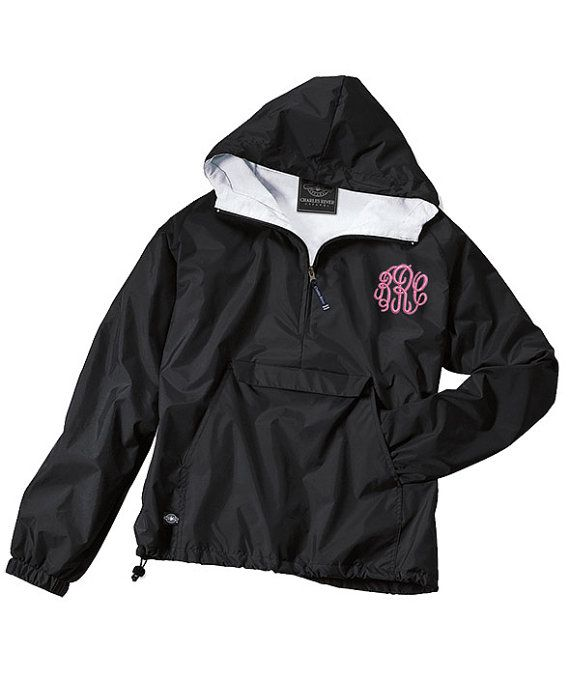 Best 25  Monogram rain jackets ideas on Pinterest | Monogrammed ...