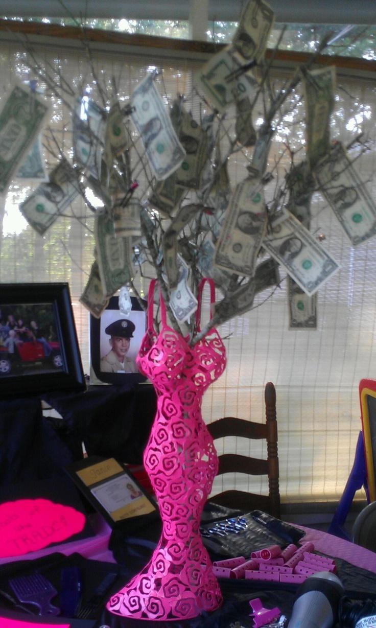 Wedding Shower Money Tree Gift Presta Blogs Therapyboxfo