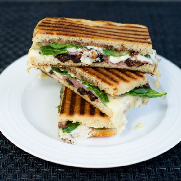 Fig and Prosciutto Panini | Food! | Pinterest