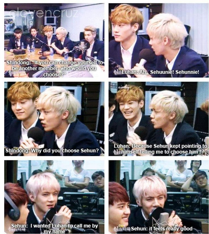 EXO MEME . hunhan moments :D *I forgot who to credit * sorry! :(
