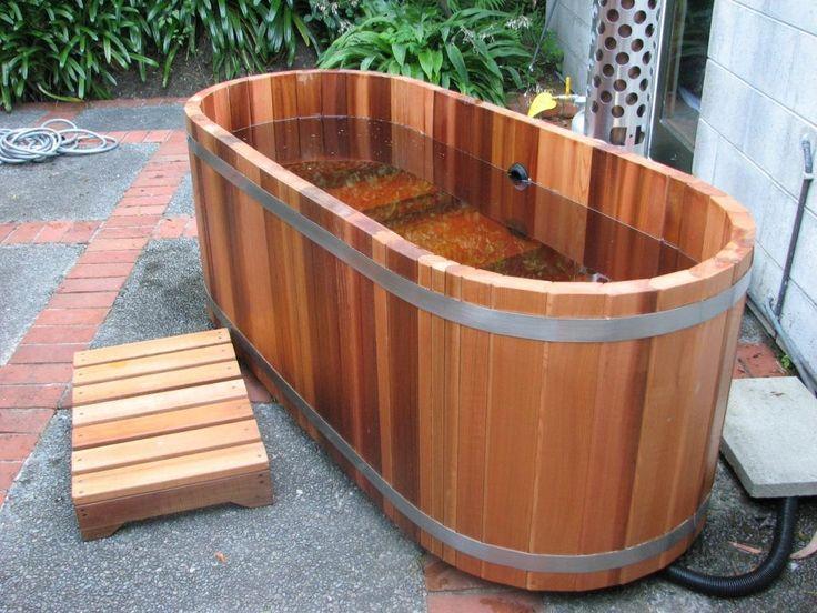 Fire hot tubs nz ltd gas or woodfired cedar hot tubs