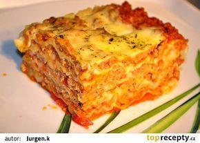 Domácí lasagne recept - TopRecepty.cz