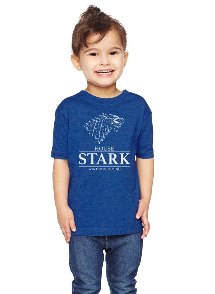 House Stark Winter Is Coming Unisex Toddler Shirt