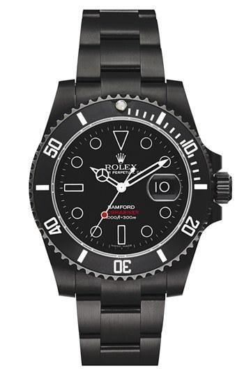Shine brite. Bamford Watch Department Customized Rolex Submariner Watch