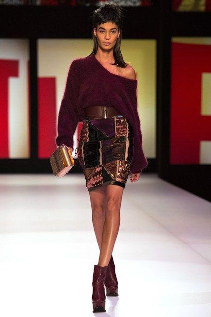 Jean Paul Gaultier - www.vogue.co.uk/fashion/autumn-winter-2013/ready-to-wear/jean-paul-gaultier/full-length-photos/gallery/948188