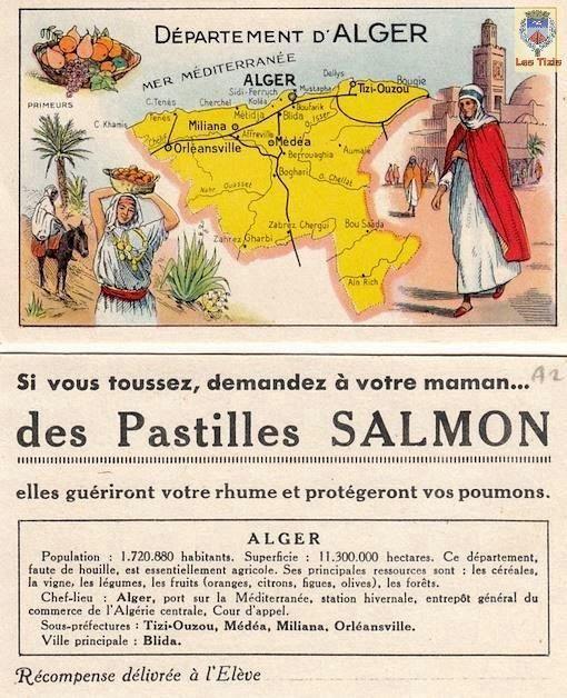 dpartement dalger et les pastilles salmon