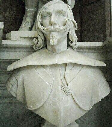 Rritratto di Carlo Andrea Caracciolo di Vico.  1643. Giuliano.Finelli. cappella Caracciolo di Vico in San Giovanni a Carbonara a Napoli