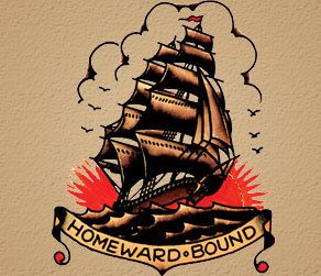 homeward bound flash from sailorjerry