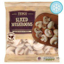 Tesco Sliced Mushrooms 500G - Groceries - Tesco Groceries