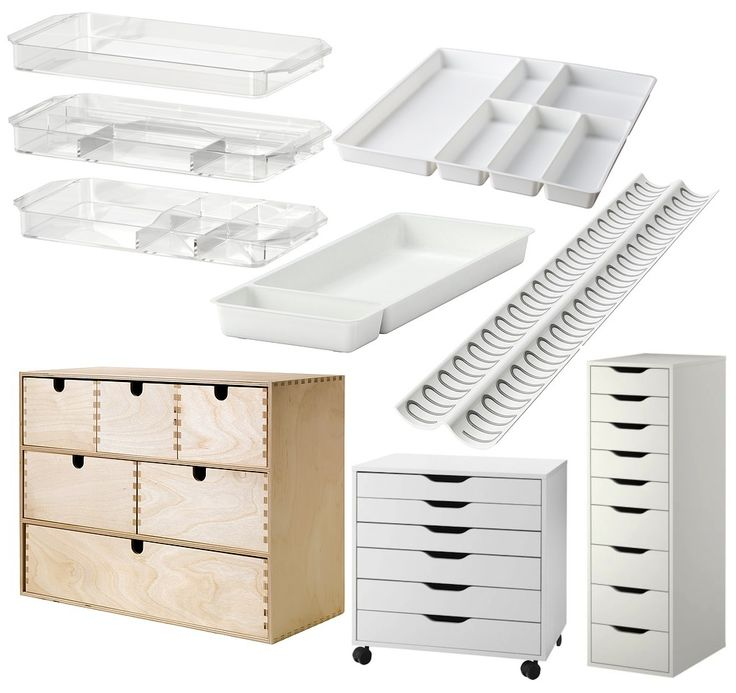 Office or Makeup Storage From IKEA. Here are a few ways to store your makeup. Some must have items, that are affordable, and simple! These can all be purchased at http://www.ikea.com/us/en/.