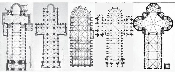 gothic architecture floor plan - Buscar con Google | Croquis | Pinterest |  Croquis