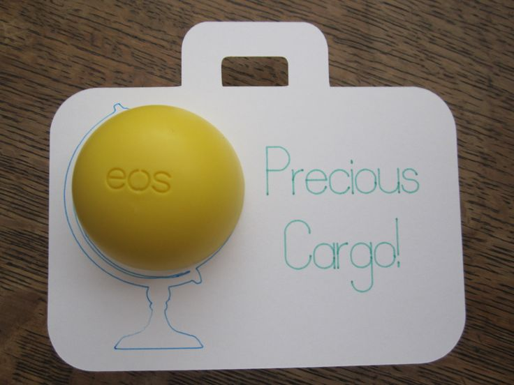 EOS: Precious Cargo/Travel Themed Baby Shower holder/tag -Can be customized!-Set of 10 cards by YellowFoxDesign on Etsy