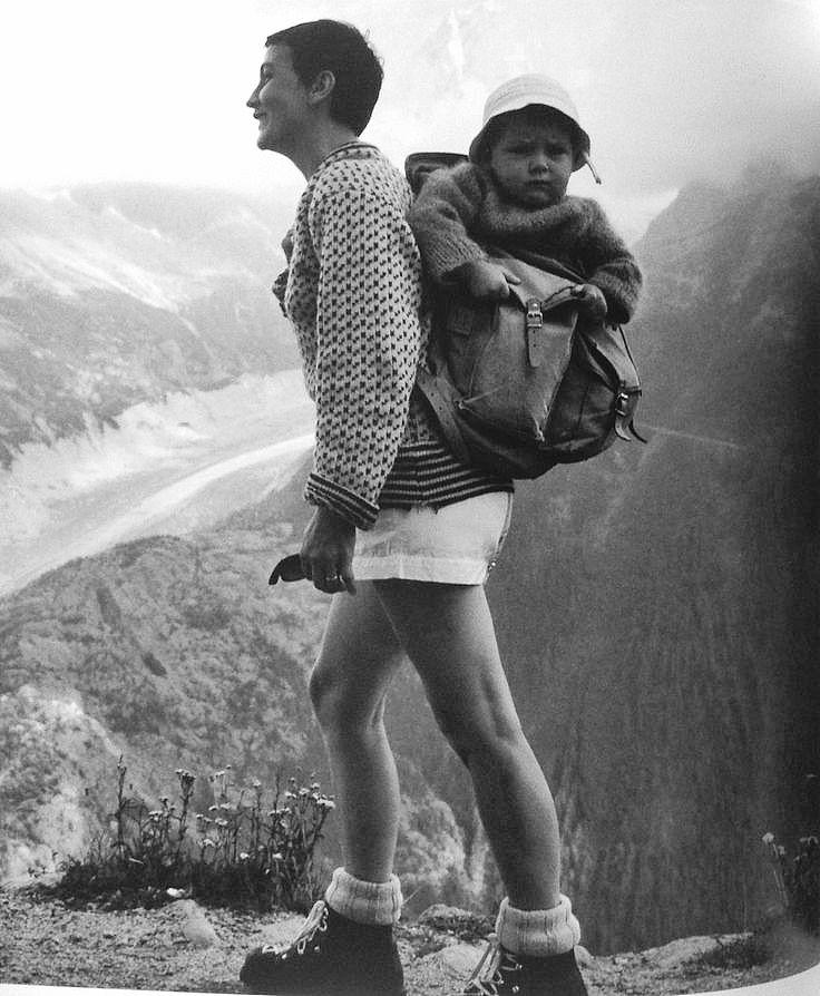Robert Doisneau // Vacances des français, La Flegere, Chamonix, Aout, 1959