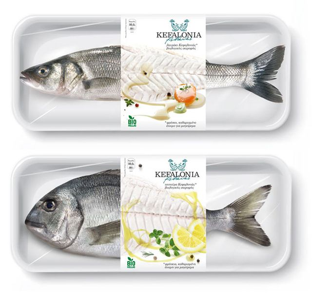 Say Hi! To Design: Package Design - Kefalonia Fisheries by Mousegraphics