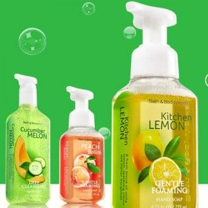 Free Sample: Hand Soap at Bath & Body Works  How to get it: Click on the pic, where you will be asked to enter your email address and the email address of a friend. You will both receive an email coupon for a free Bath & Body Works hand soap of your choice.  ***I just tried this. Either Bath and Body Works is rolling out the coupons next day, or they take hours to arrive in my inbox. It's not an instant coupon. FYI