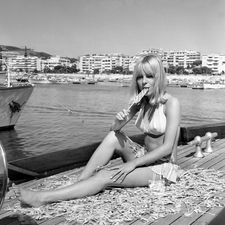 France Gall, Cannes, 1966