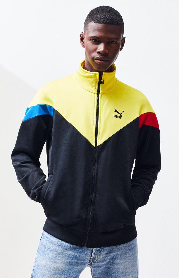 Puma Warm Up Mens Running Jacket Black