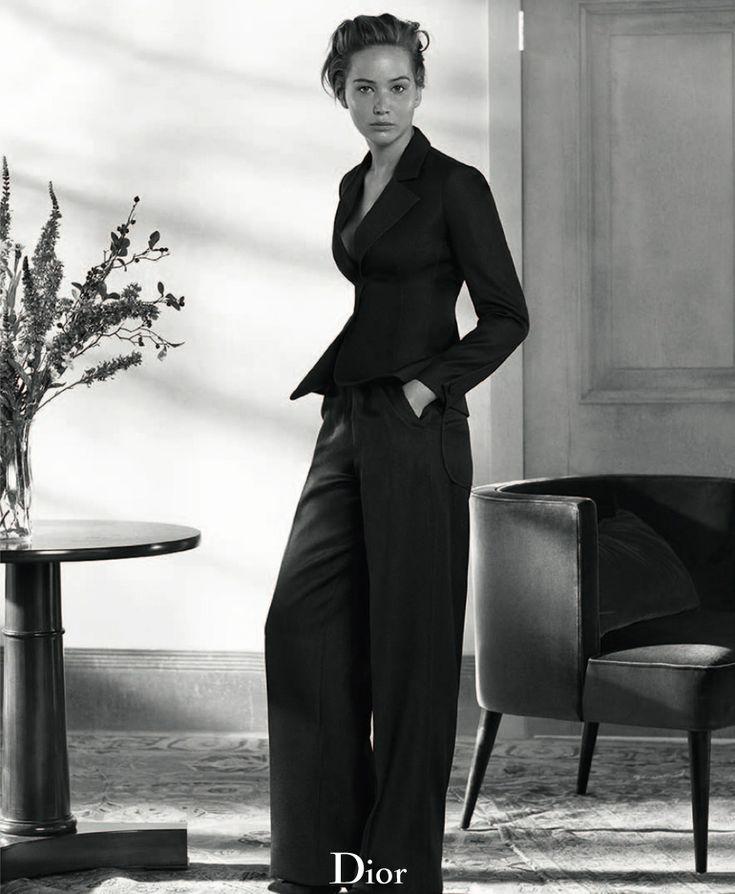 dior mag jennifer lawrence4 Jennifer Lawrence Sits for Dior Magazine Fall/Winter 2013