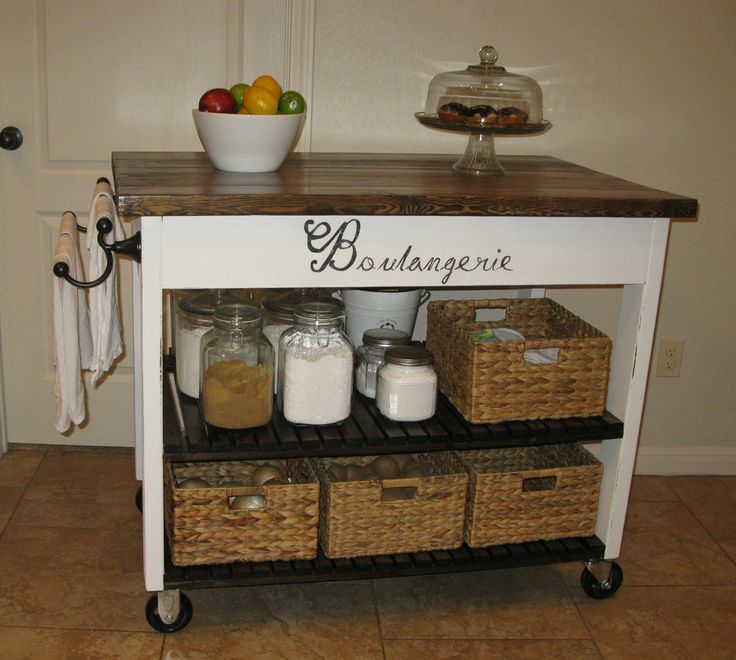 DIY Kitchen Island From Dresser   easy Kitchen Island   Do It Yourself Home Projects from Ana White