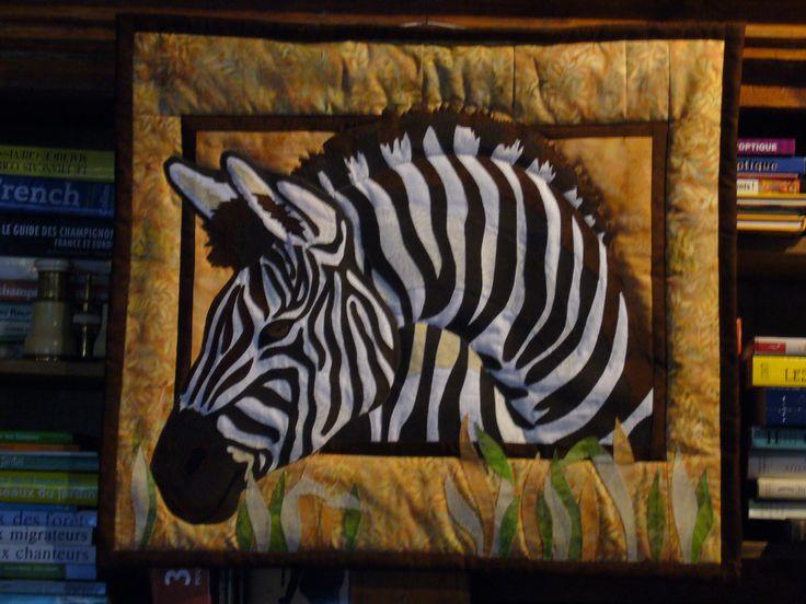 Le zebre.   Realisation Michele Lapeyrere