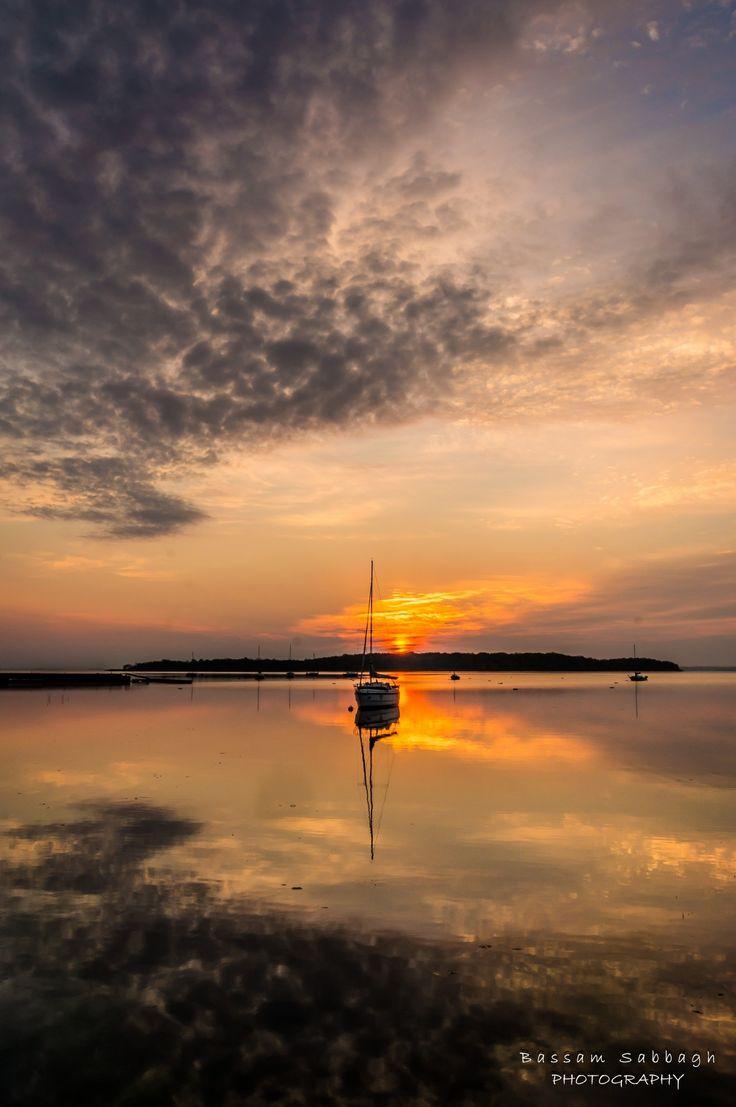 Boat Sunrise - null