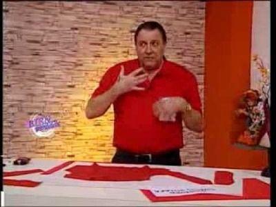Hermenegildo Zampar - Bienvenidas TV - Explica la costura del Cuello Solapa.