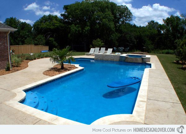 52 best rectangle pools images on pinterest rectangle for Pool design washington dc