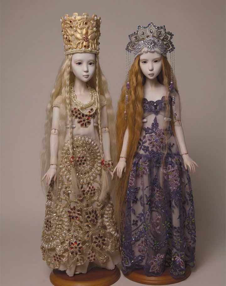 """""""I always loved to create, and dolls represent something mysterious and fascinating. That true love for creation has remained with me all along and is still very much alive."""" Explore Anna Gechtman's Daughters of Zion collection inside Art Doll Quarterly."""